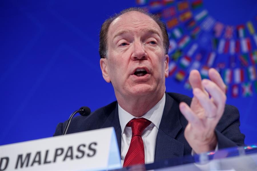 Jefe del Banco Mundial reitera compromiso contra crisis climática