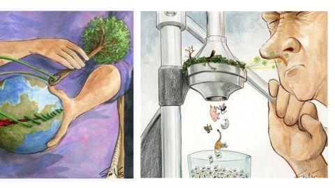 Viñetas ambientales