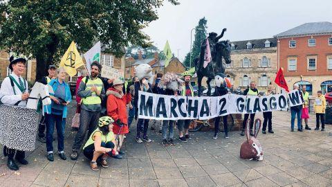 Marcha a Glasgow