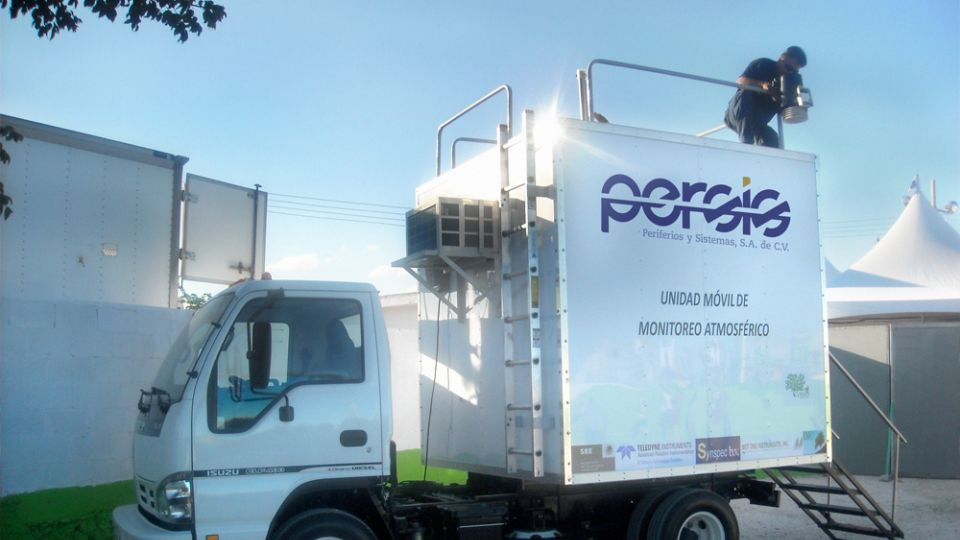 Unidad de transporte Persis.