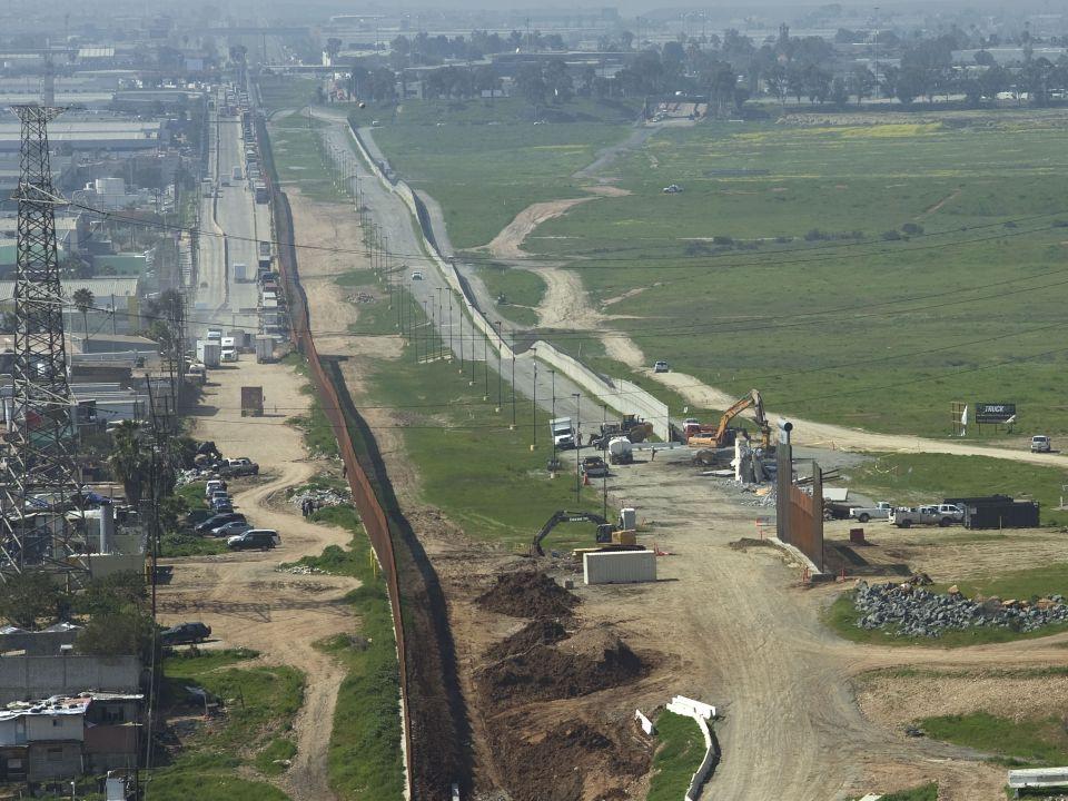 Muro fronterizo EUA y México