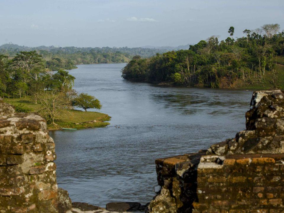 Río San Juan. Nicaragua