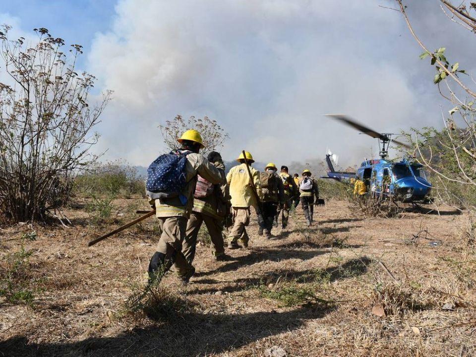 Incendio en Jalisco
