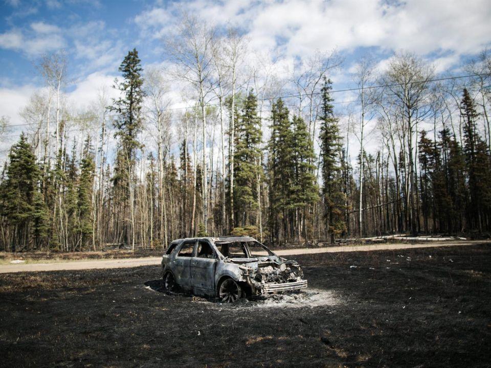 Incendio en Canadá