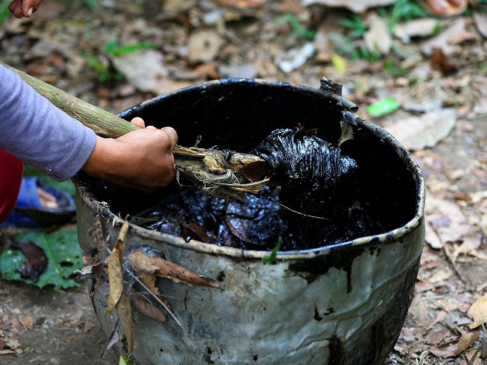 Residuos de petróleo