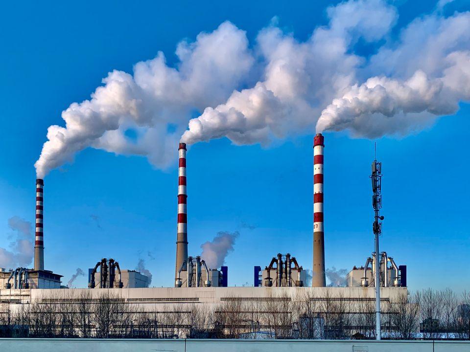 Emisiones de chimeneas